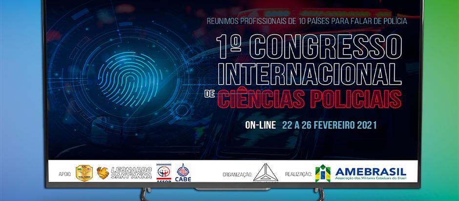 1º Congresso Internacional de Ciências Policiais movimenta comunidade da segurança pública