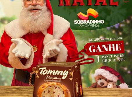 Promoção de Natal 2019 do Sobradinho Shopping
