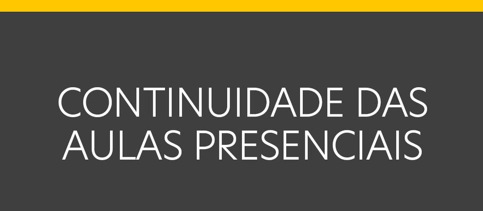 Nota Pública sobre as aulas presenciais do Colégio Ágora