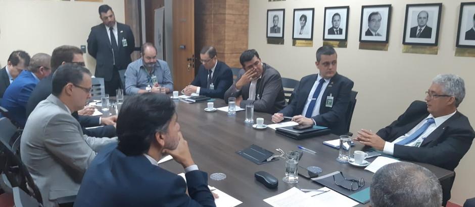 Gabinete Integrado: AMEBRASIL discute segurança pública e interesse das polícias militares