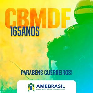 165 anos do CBMDF