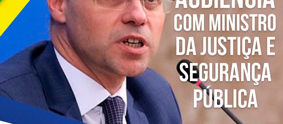 AMEBRASIL terá audiência com o Ministro da Justiça e Segurança Pública