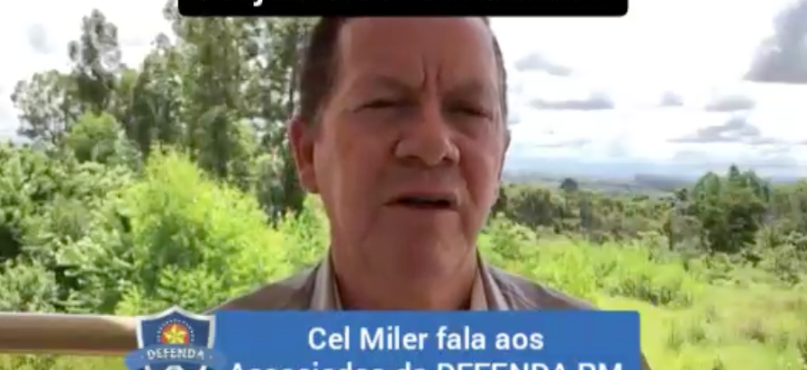 """Cel PMESP Miler da Defenda PM revela alterações articuladas no Projeto de Lei """"Mansueto"""""""
