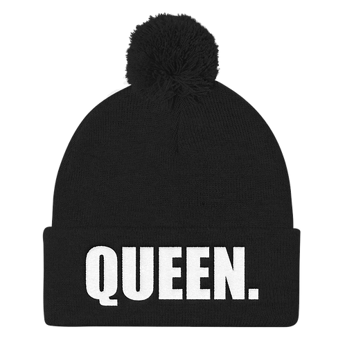 QUEEN - Puff Ball Beanie