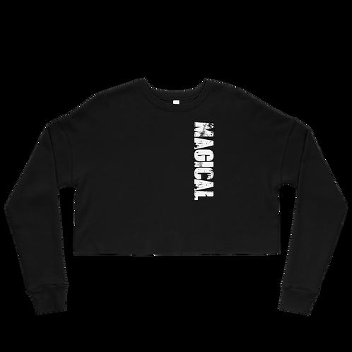 MAGICAL - Fleece Crop Top Sweatshirt
