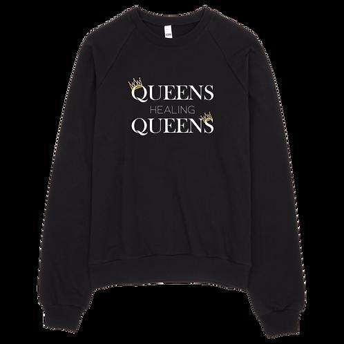Queens Healing Queens - Fleece Sweatshirt