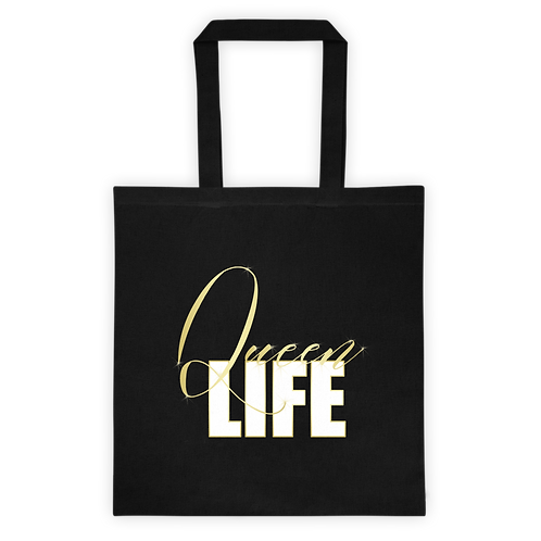 Queen Life - Canvas Tote Bag