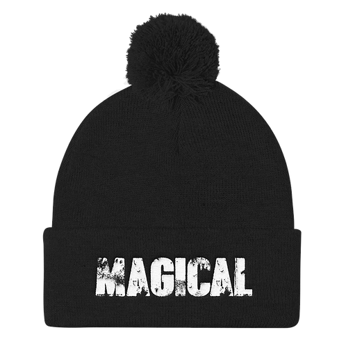 MAGICAL - Puff Ball Beanie