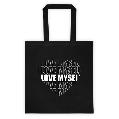 I LOVE MYSELF - Canvas Tote Bag