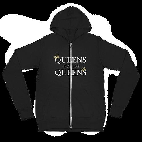 Queens Healing Queens - Zip Hoodie