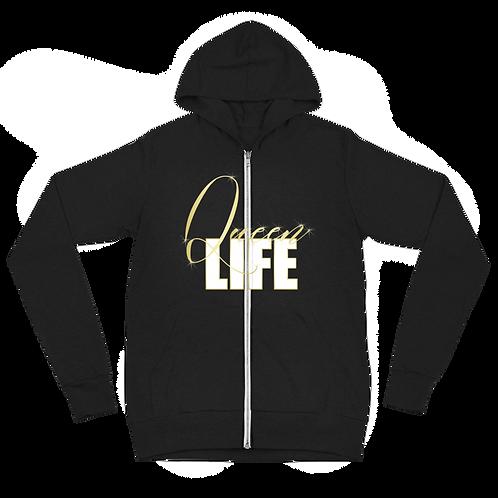 Queen Life - Zip Hoodie