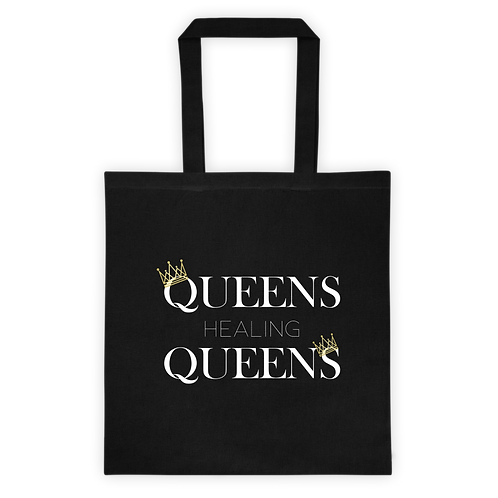 Queens Healing Queens - Canvas Tote Bag