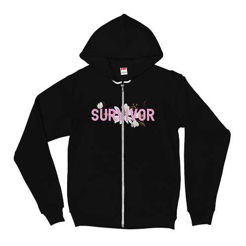 Survivor - Fleece Zip Hoodie