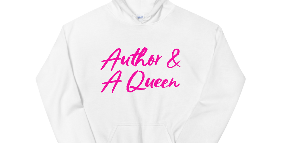 Author & A Queen Hoodie