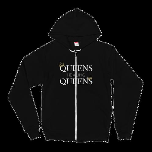 Queen Healing Queens - Fleece Zip Hoodie