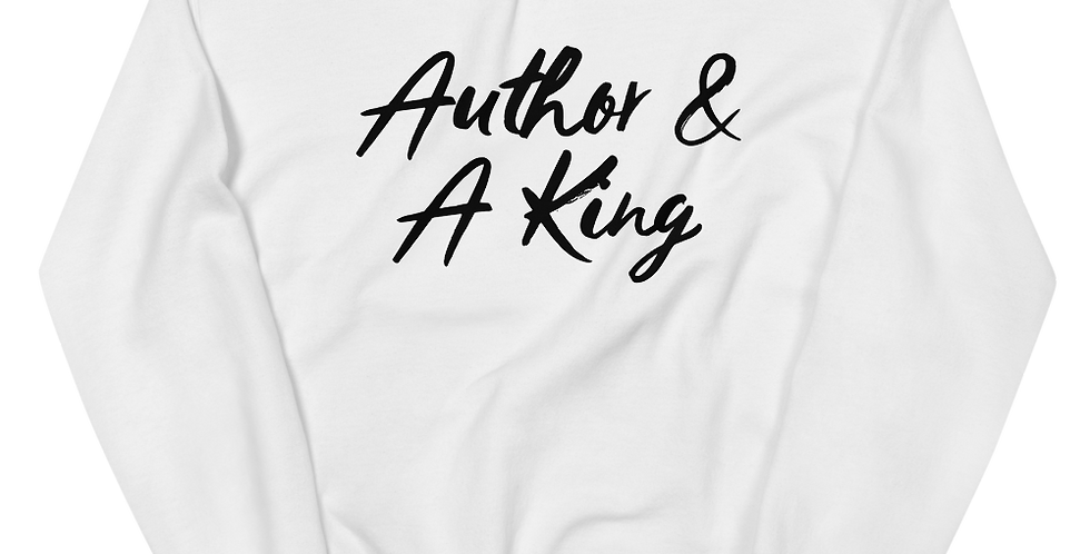 Author & A King Sweatshirt