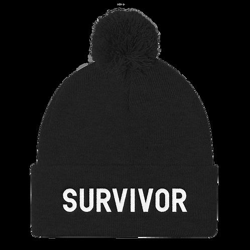 Survivor - Puff Ball Beanie