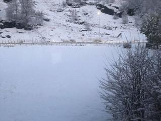 Snø i Sirdal!