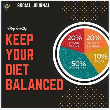 Importance of Balanced diet