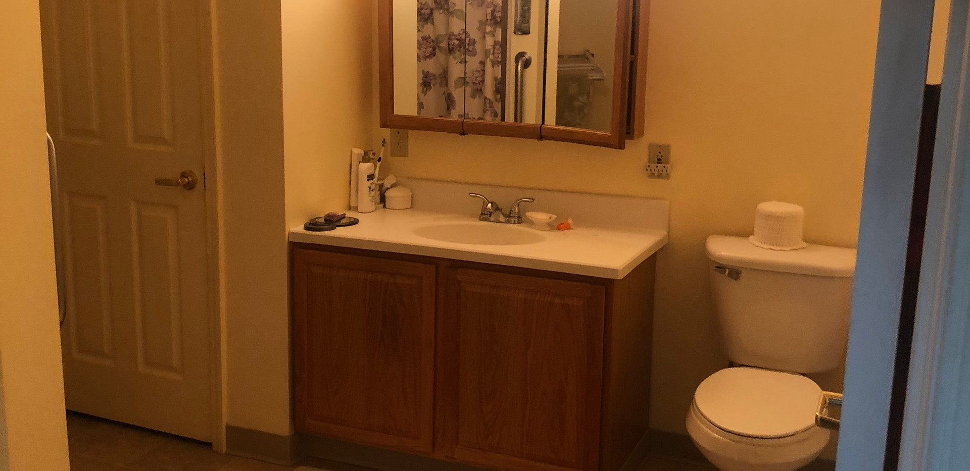 Bathroom 2 bedroom apartment vanity view