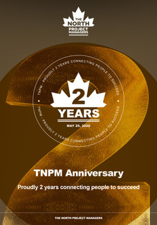 The North Project Managers 2 years anniversary celebration.