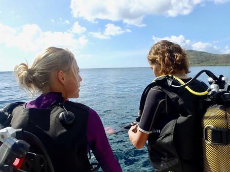 Progresser en plongée sous-marine
