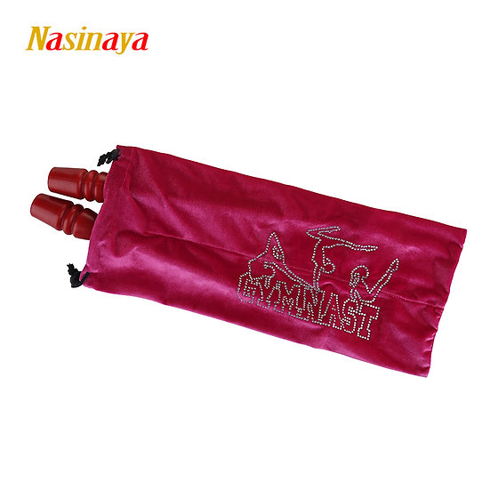 Rhythmic Gymnastics Stick Bag 24 Colors RG Velvet Fabric