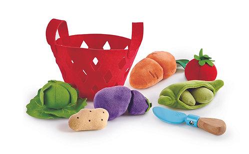 Panier de légumes pour enfants
