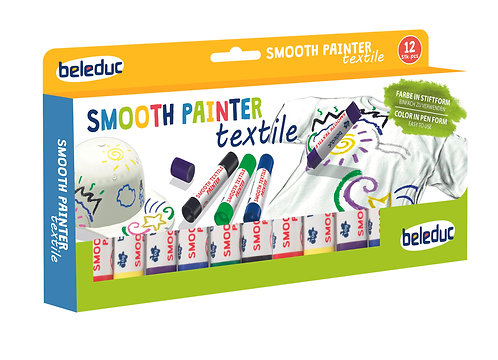 Ensemble de 12 crayon peinture textile