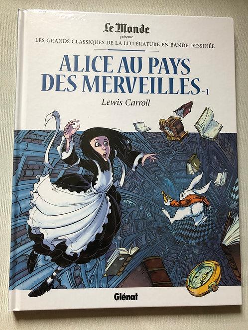 Alice au pays des Merveilles 1 - classiques de la littérature Le Monde/Glénat