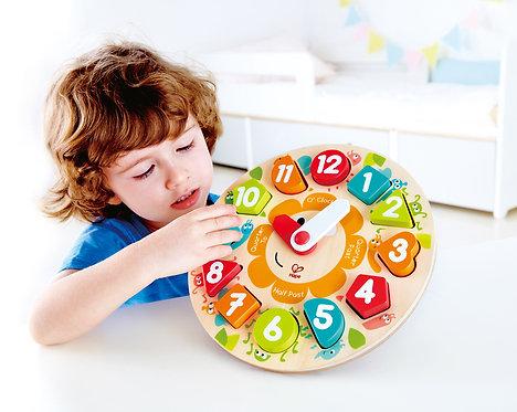 Puzzles à grosses pièces - Horloge