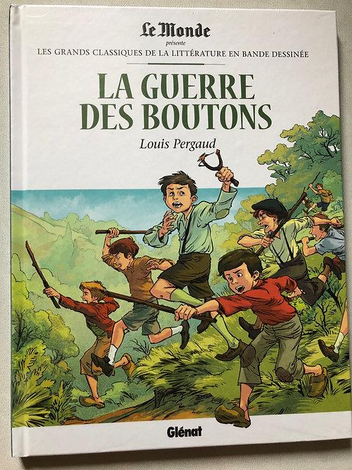 La guerre des Boutons - Les Grands classiques de la littérature Le Monde/Glénat