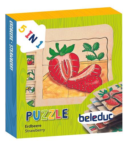 Puzzles multicouche - Développement fruits et légumes
