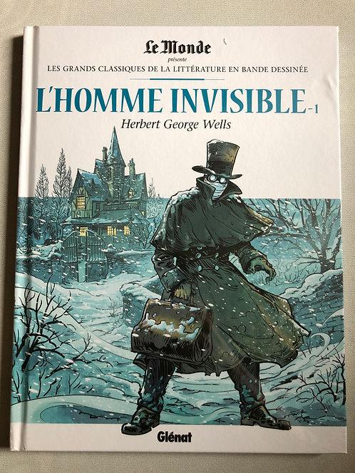 L'Homme Invisible 1 - Les Grands classiques de la littérature Le Monde/Glénat
