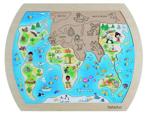 "Puzzle ""One World"""