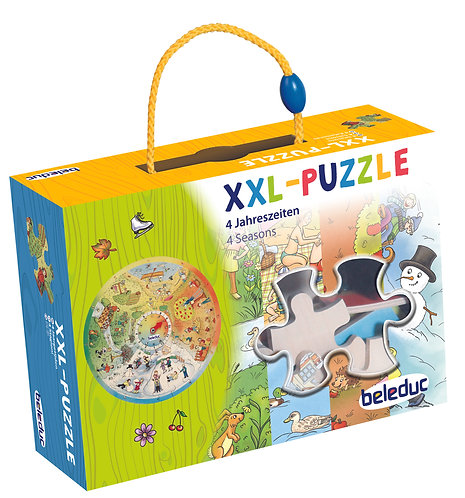 """Puzzle d'apprentissage XXL """"4 saisons"""""""