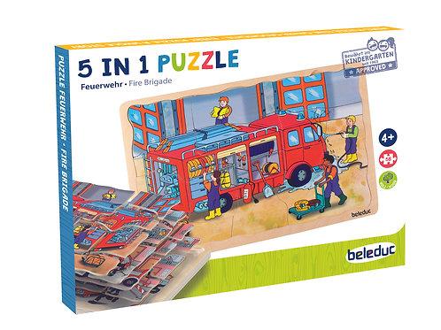 Puzzle multicouche - Pompier