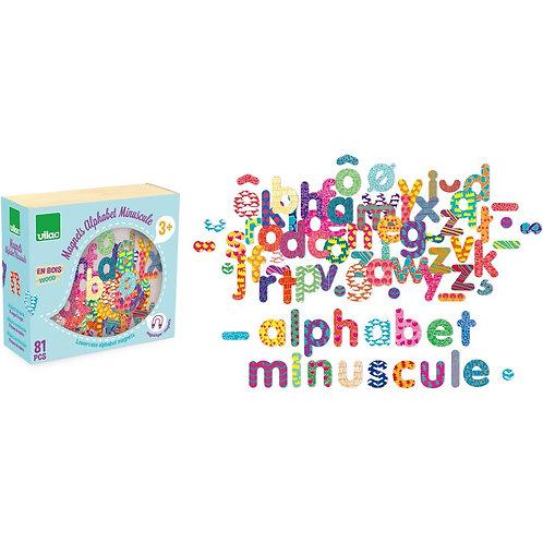 Magnets alphabet minuscule 81pcs