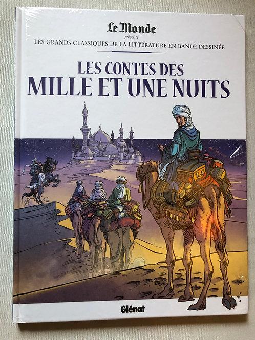 Les contes des milles et une nuits- classiques de la littérature Le Monde/Glénat