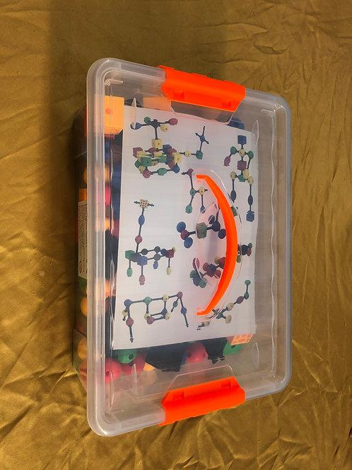 Atomic'art 3 Tailles 150 pièces 5 formes 5 couleurs
