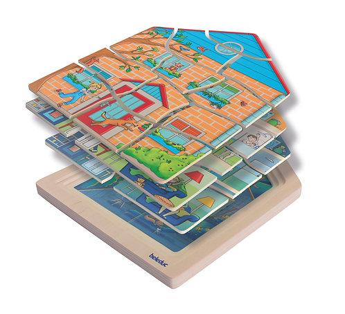 Puzzles multicouche - Maison