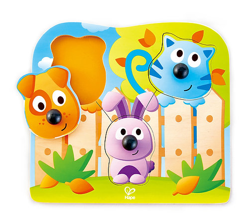Puzzle gros Boutons