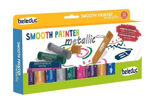 Ensemble de 12 crayon peinture métallique