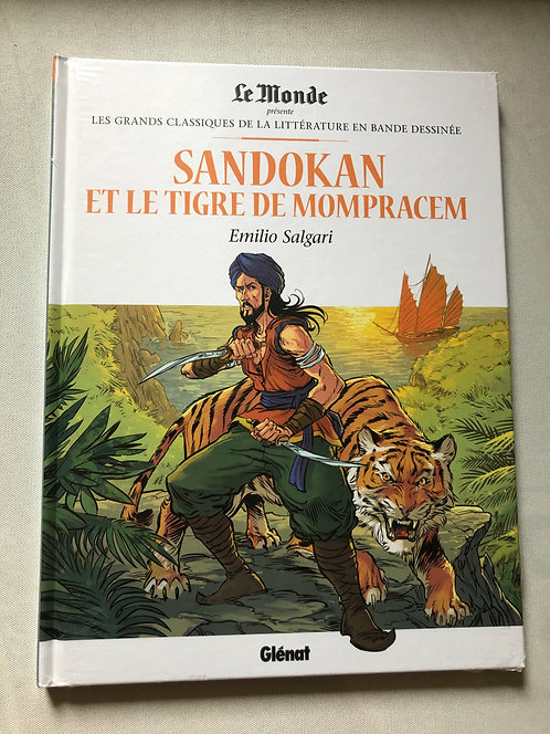 Sandokan et le tigre de mompracem - classiques de la littérature Le Monde/Glénat