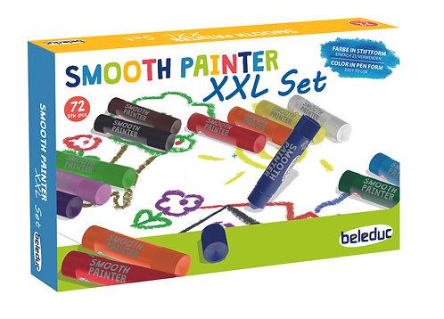 Ensemble de 72 crayon peinture lisse