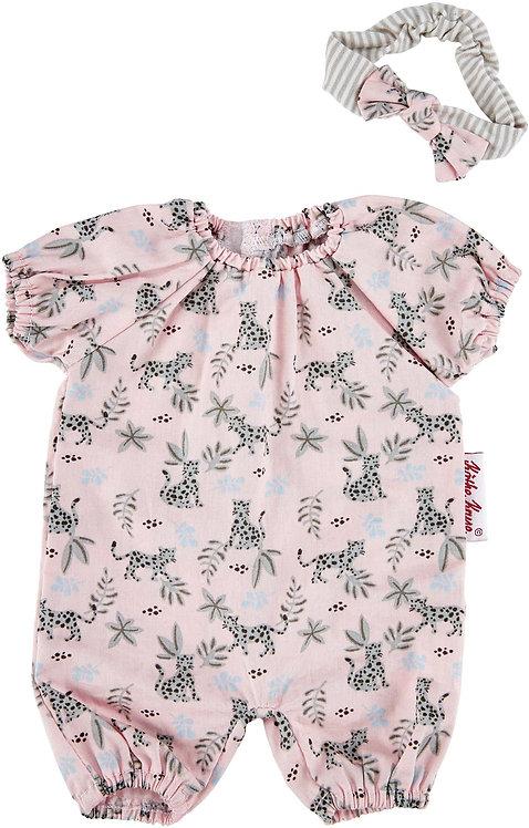 pyjama motif léopard