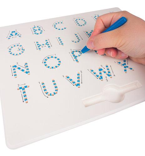 Tableau à dessins magnétique lettres