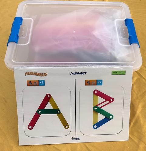 Flexi lamelles boite de 500 pièces / 2 tailles et 5 couleurs