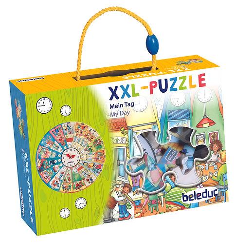 """Puzzle d'apprentissage XXL """"Ma journée"""""""