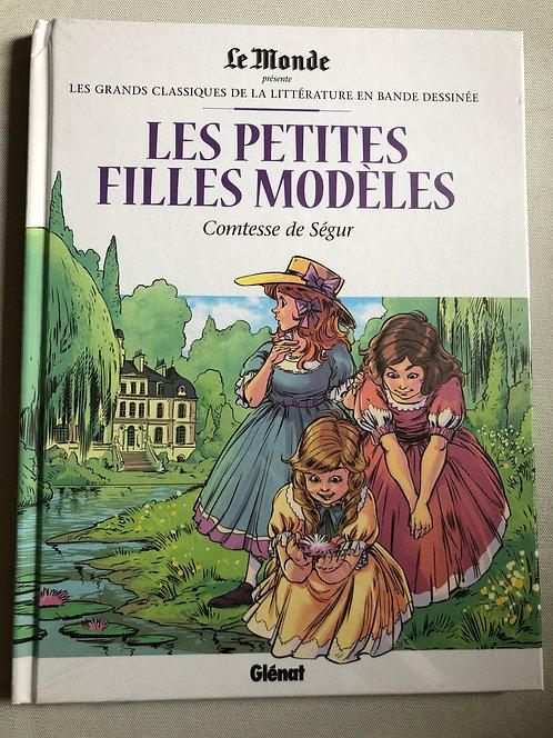 Les petites filles modèles - Grands classiques de la littérature Le Monde/Glénat
